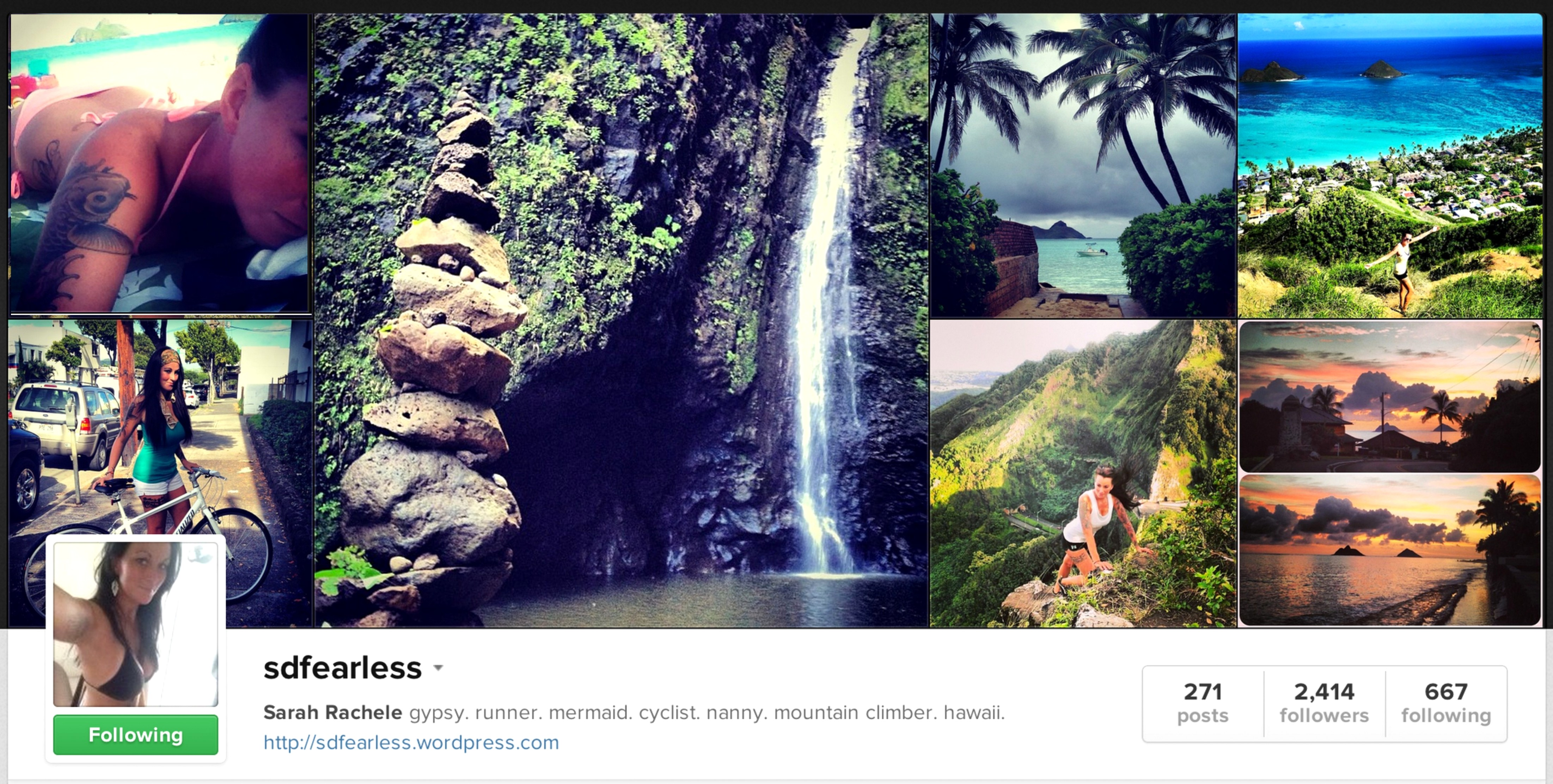 SDFearles Best Hawaii Instagram of the year 2013