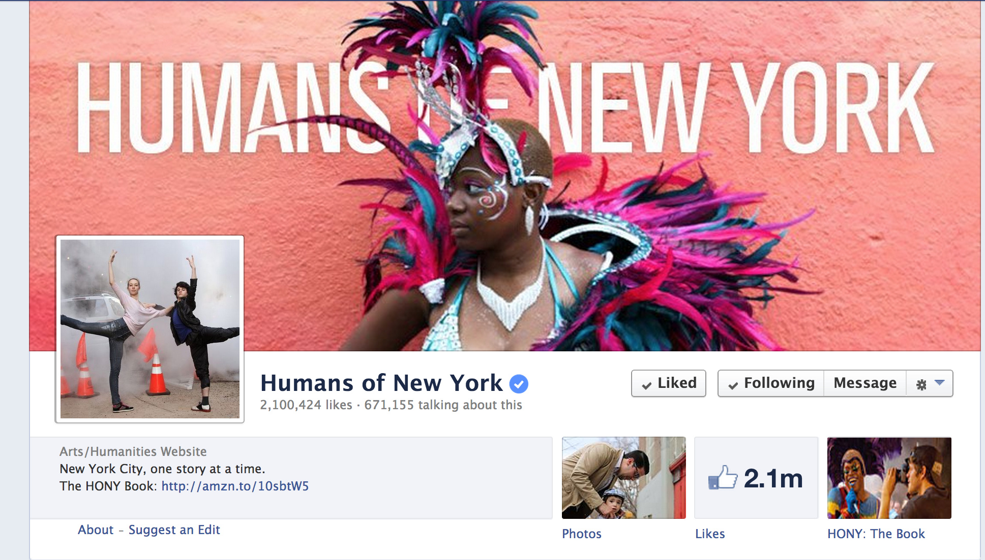 Favorite Blog 2013: Humans of New York
