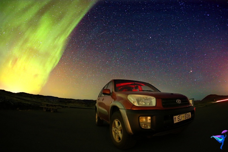 Iceland Ring Road Trip Northern Lights