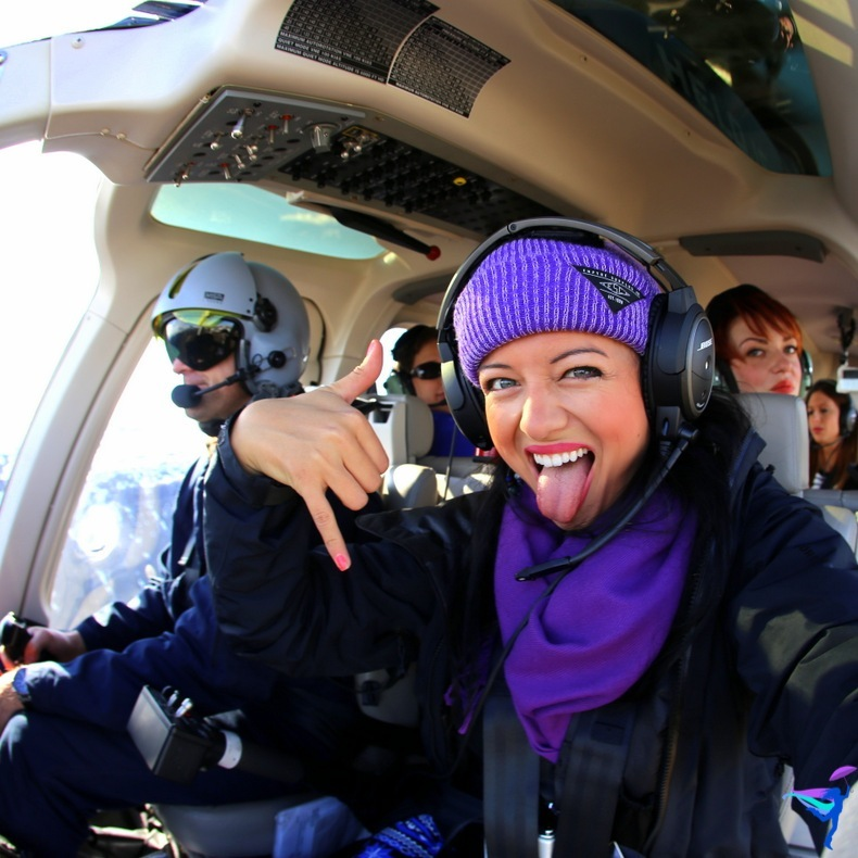 Epic Helicopter Selfie