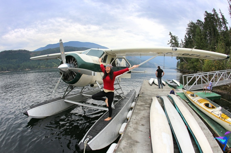 West Coast Wilderness Lodge Vacations Abroad Egmont, British Columbia scenic flight