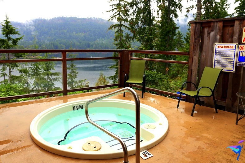 West Coast Wilderness Lodge Vacations Abroad Egmont, British Columbia
