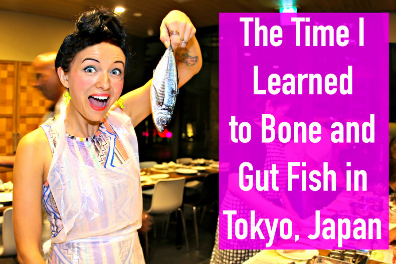 The Time I Learned to Bone and Gut Fish in Tokyo, Japan