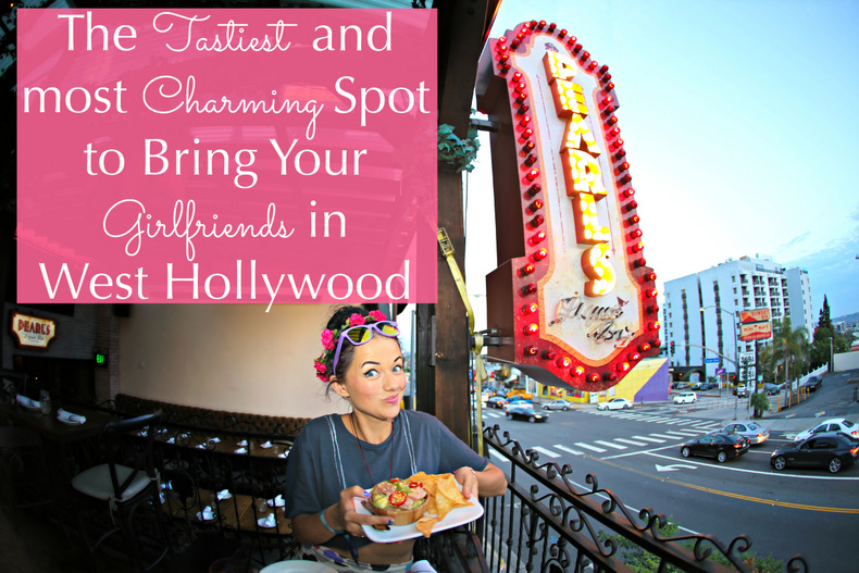 The Tastiest and Most Charming Spot to Bring your Girlfriends in West Hollywood