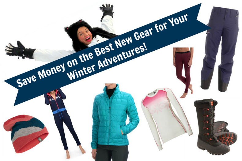 Save Money on the Best New Gear for Your Winter Adventures!