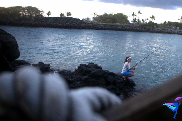 Fishing Kailua Kona, Hawaii