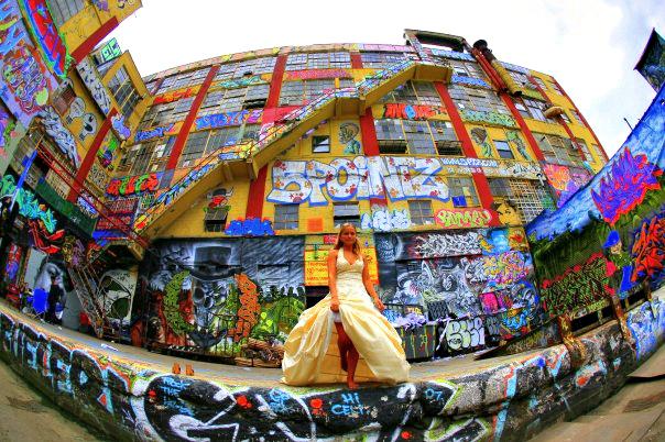 wedding 5 pointz street art graffiti new york city urban art