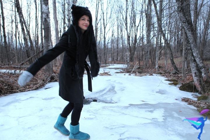 The Legendary Adventures of Anna frozen stream Maine