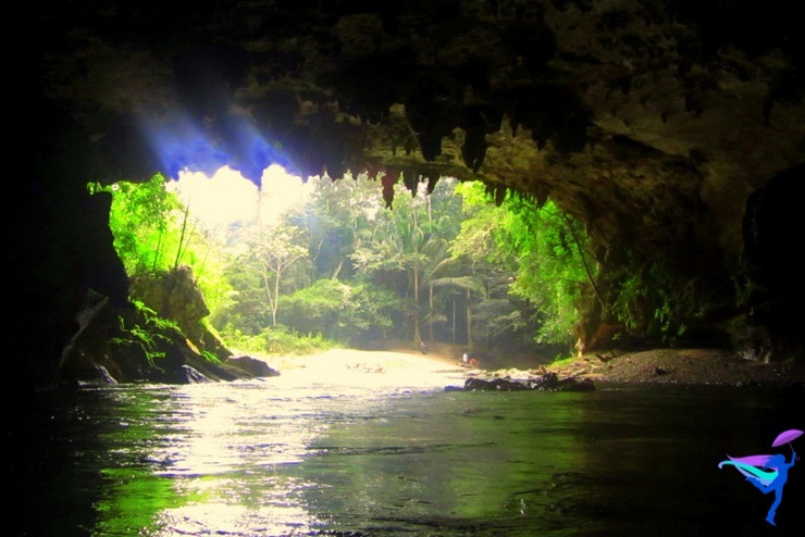 Belmopan, Belize Cave Tubing