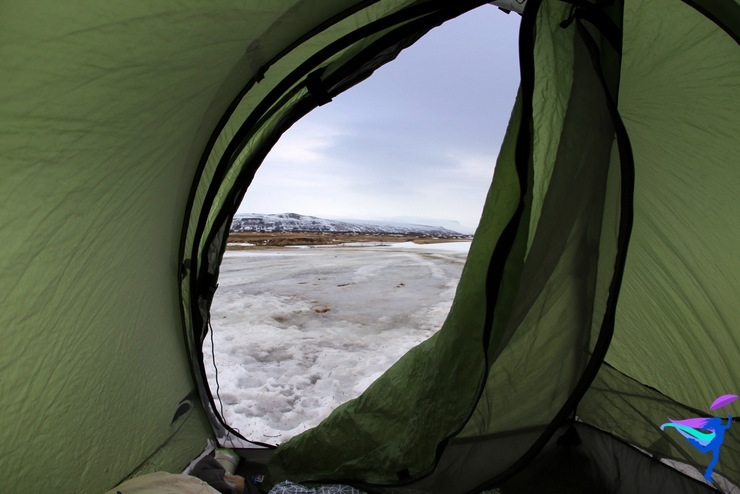 Winter Camping Iceland