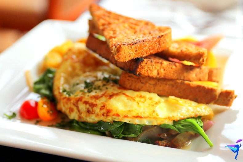 West Coast Wilderness Lodge Vacations Abroad Egmont, British Columbia breakfast omlette
