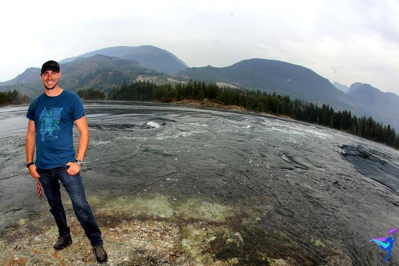 West Coast Wilderness Lodge Vacations Abroad Egmont, British Columbia  Skookumchuck Narrows Provincial Park Skook Rapids