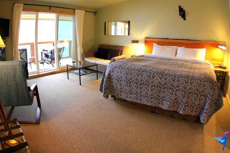 West Coast Wilderness Lodge Vacations Abroad Egmont, British Columbia room