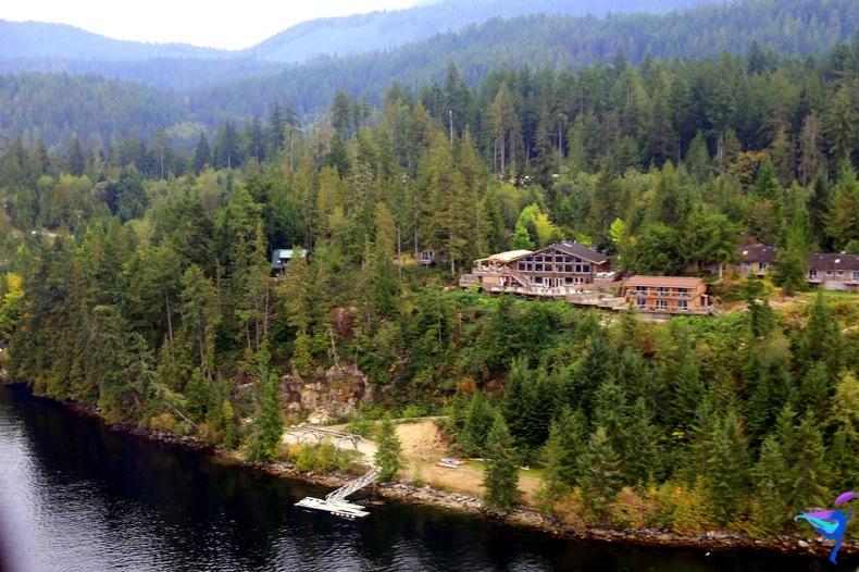 West Coast Wilderness Lodge Vacations Abroad Egmont, British Columbia