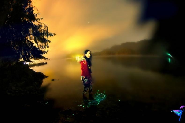 West Coast Wilderness Lodge Vacations Abroad Egmont, British Columbia Bioluminescence