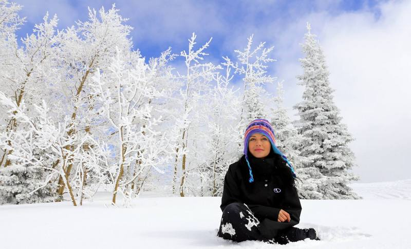 snowmodiling