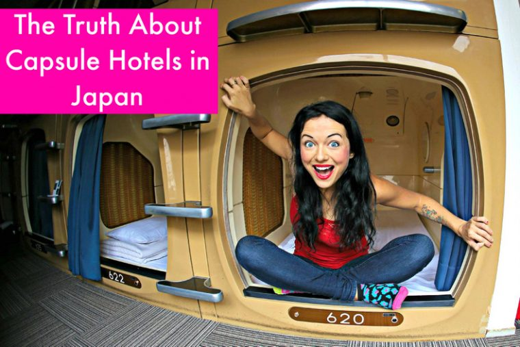 The Truth About Capsule Hotels in Japan