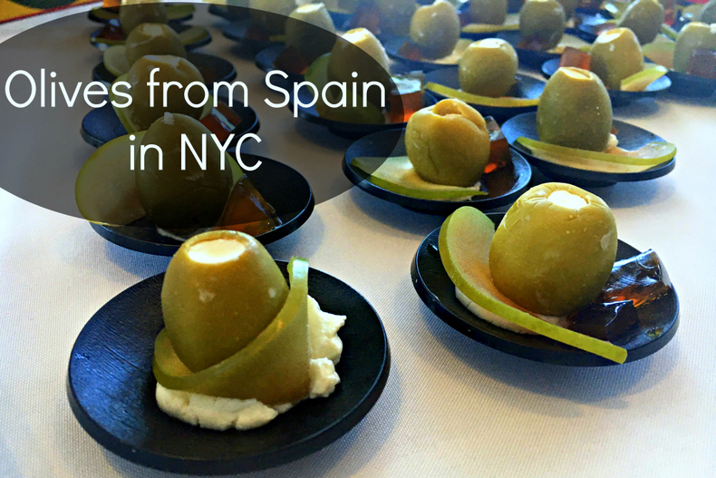 Olives from Spain in NYC
